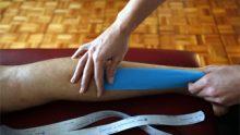 Vendaje Neuromuscular para esguinces de tobillo