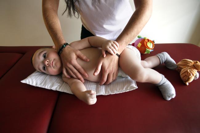 Atención fisioterapéutica a niños con distrofia muscular