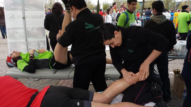 Atención fisioterapéutica de lesiones deportivas