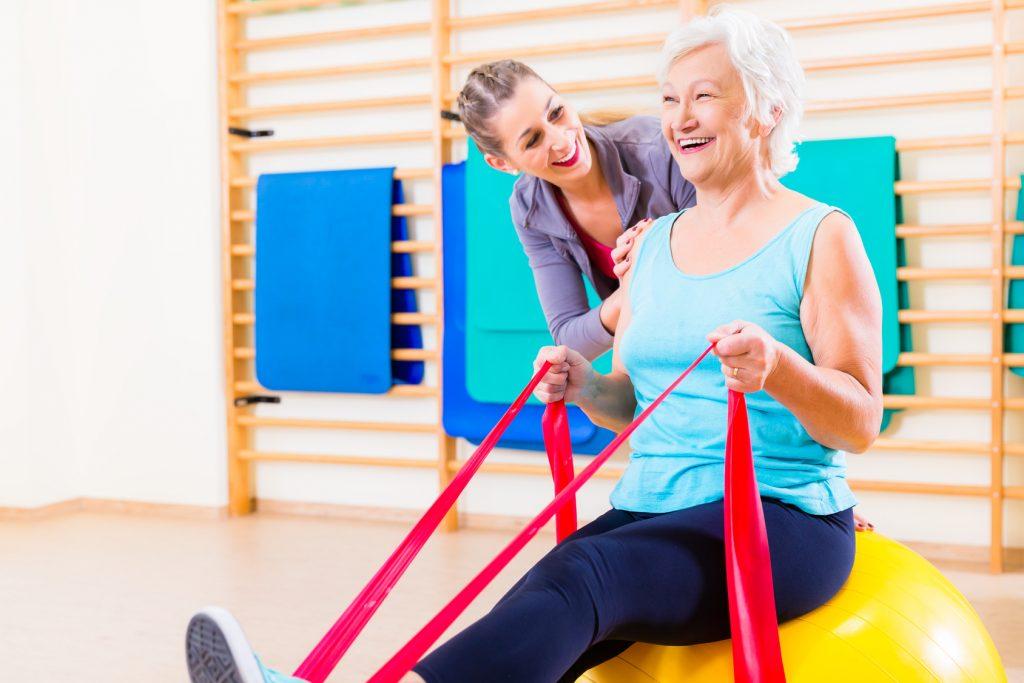 El peligro de las caídas en personas mayores